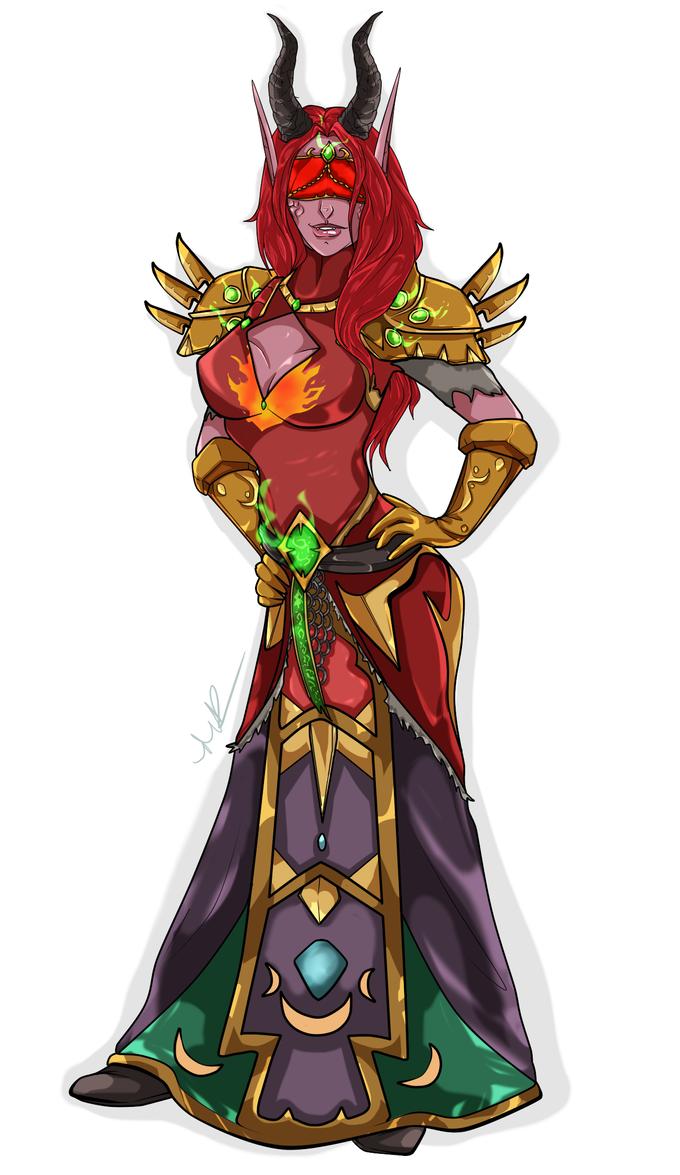 Infyrana Fireheart by Musing-Zero