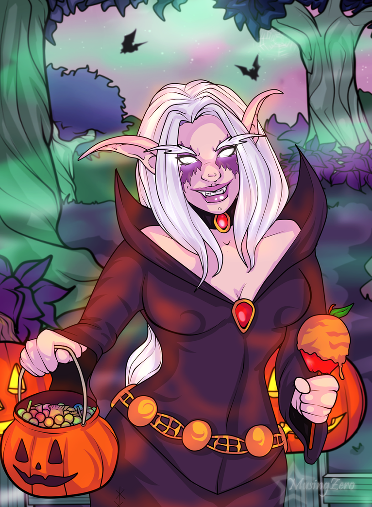 Halloween Commission: Sinnie by Musing-Zero