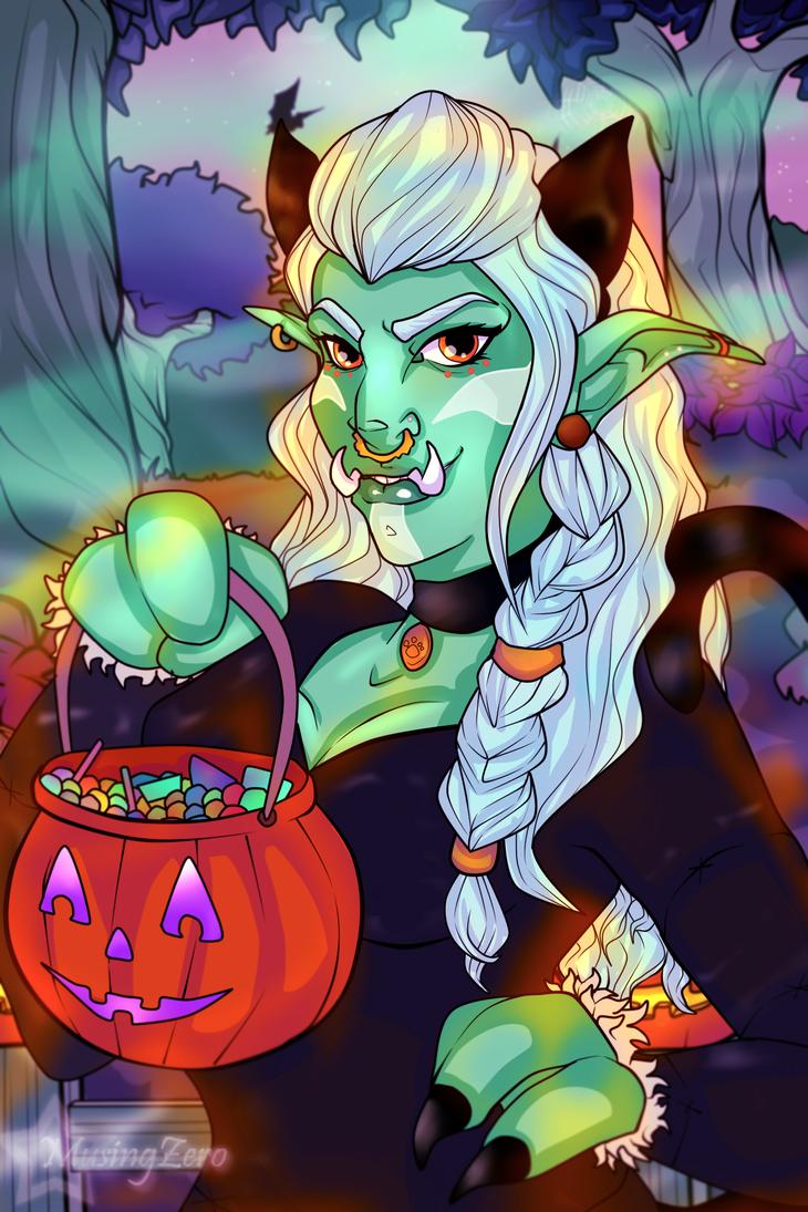 Halloween Commission: Kiefeon by Musing-Zero