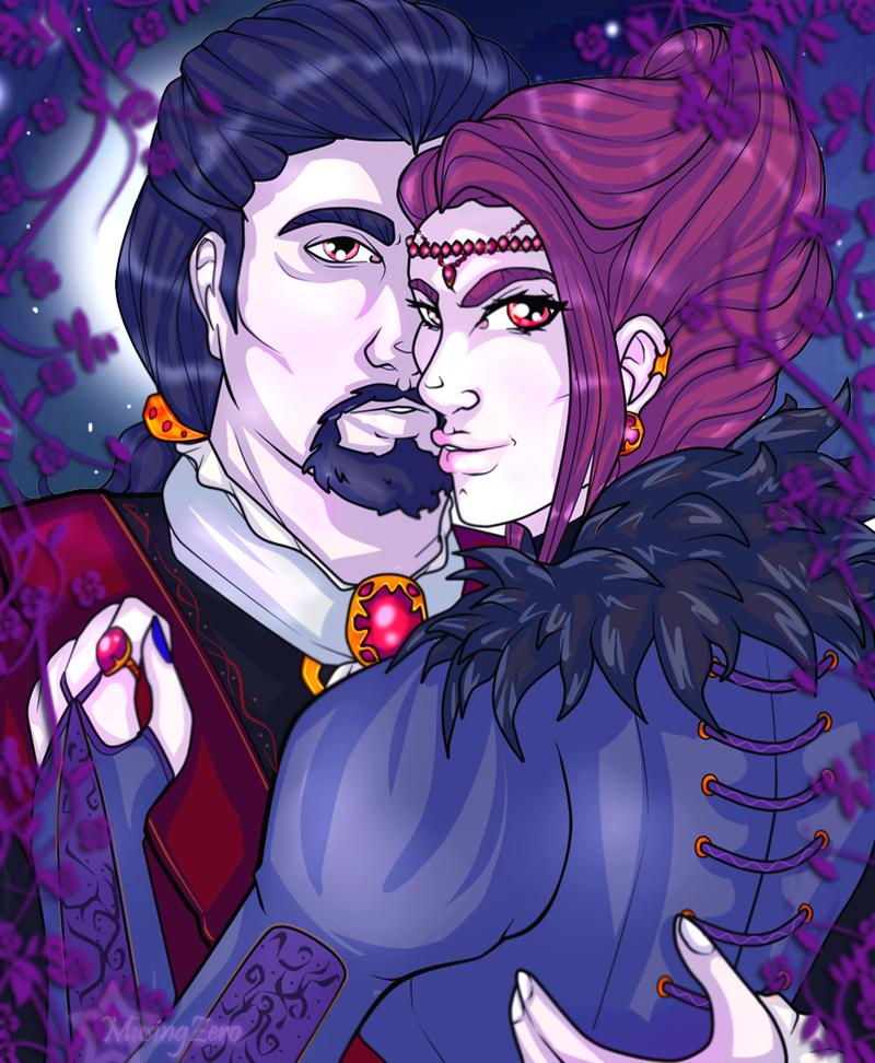 Commission: Vaesha and Sedric by Musing-Zero