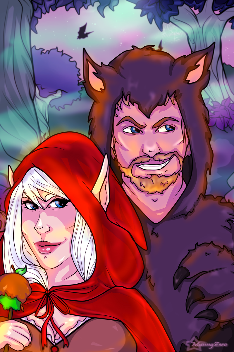 Halloween Commission: Red Riding Hood by Musing-Zero