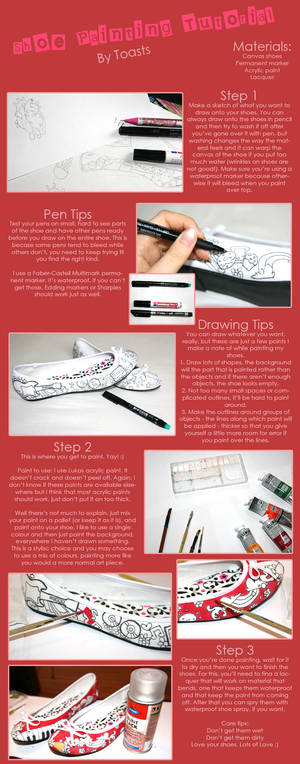 Painting Shoes :: Tutorial