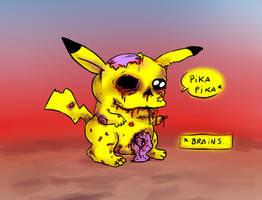 Pikachu Zombie by Fadri