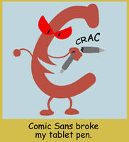 Comics Sans by Fadri