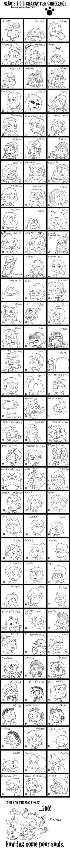 100 Characters Meme by Fadri