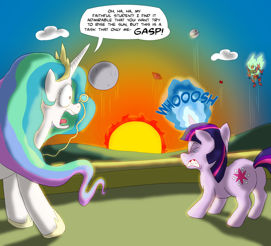 MLP FiM - Rising the Sun