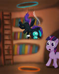 MLP FiM - Nyx Doing Science