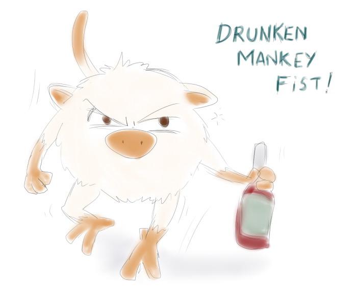 Mankey by Fadri