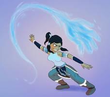 Avatar Korra by Fadri