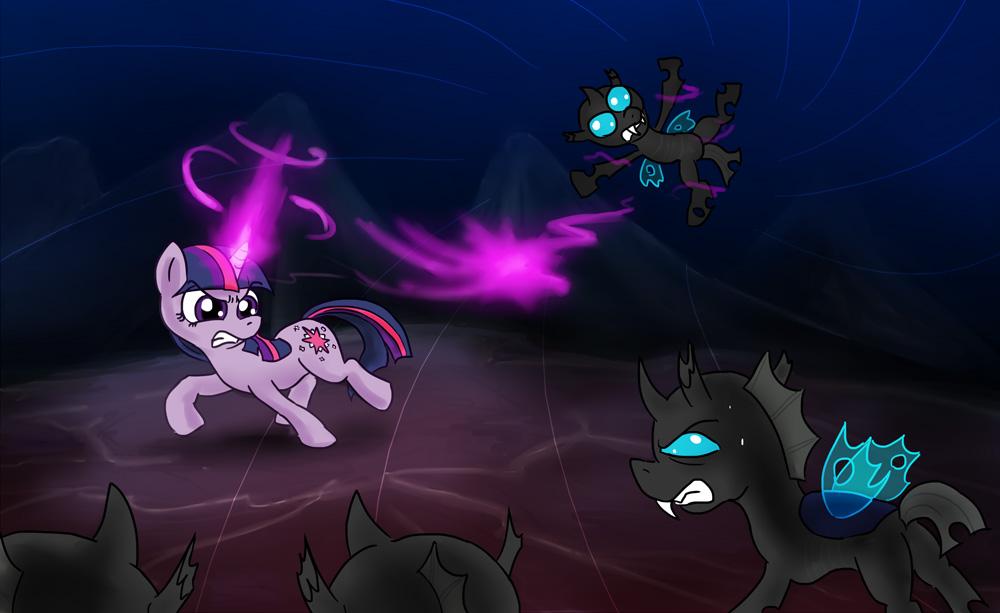 EqDTG II - 07 - Pony facing conflict