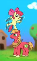EqDTG II - 18 - Pony acrobat, stable pony by Fadri
