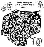 MLP FiM - Maze by Fadri