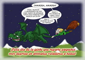 Dragon Mail Navidad 2013 by Fadri