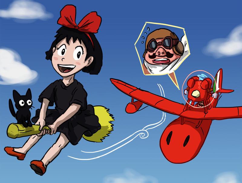 Ghibli-senpai noticed me by Fadri