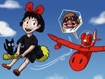 Ghibli-senpai noticed me