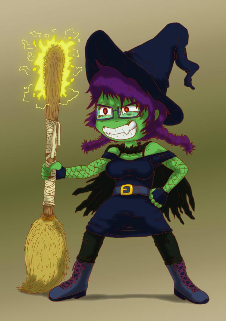 SCArtJam - Witchsona by Fadri
