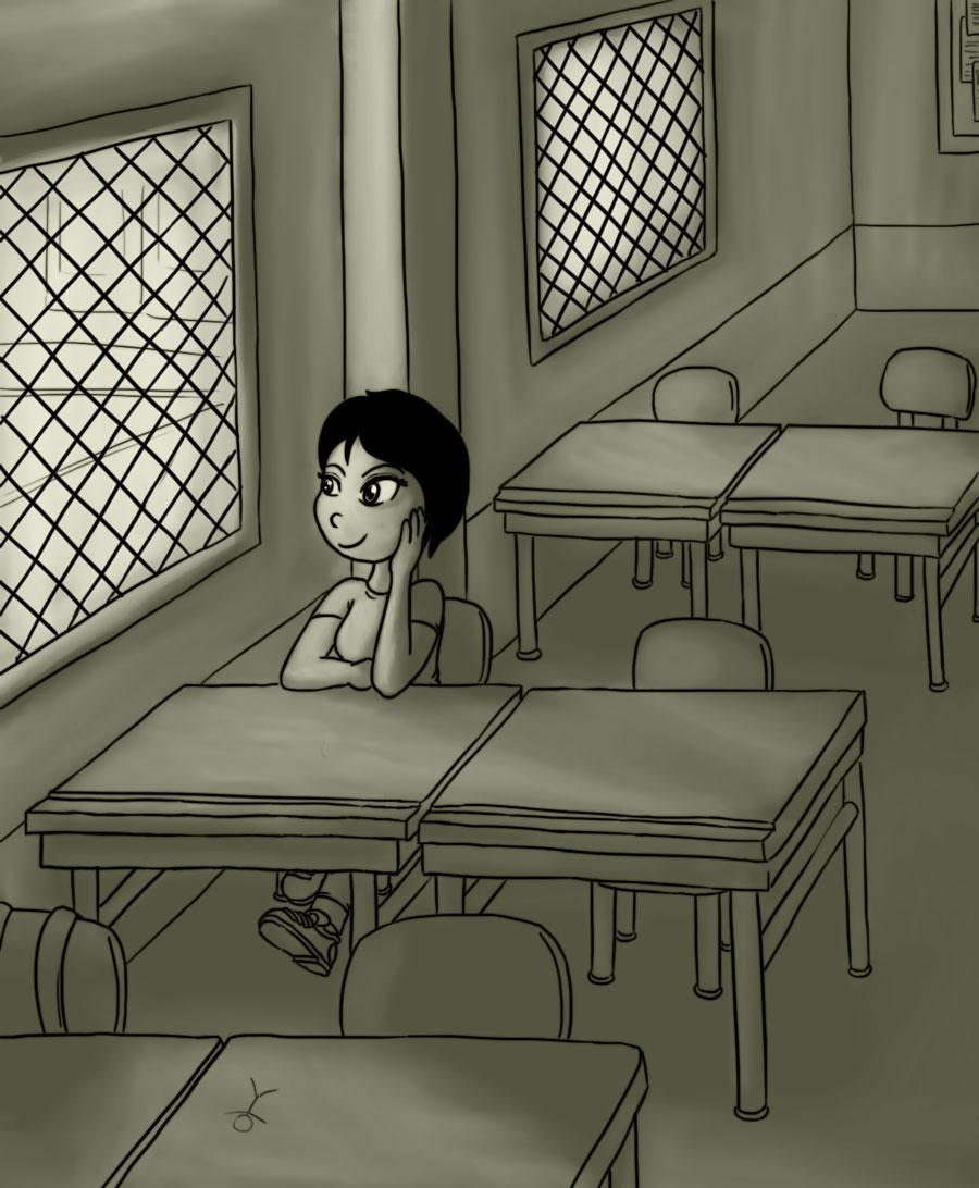 Mixto V - The classroom by Fadri