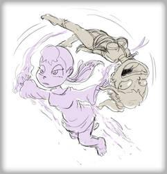 Xheera and Mhyhm Acrobatics