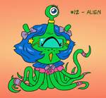 ~Monster Girl Inktober~ #12: Alien