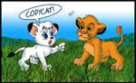 Kimba VS Simba