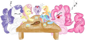 Drink With the Mane 6