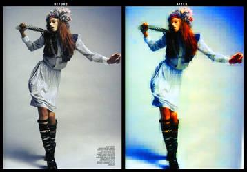 PhotoManipulation: Pixelized