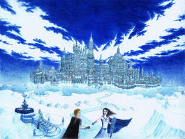 The Ice Queen's Castle by andreasAMX7
