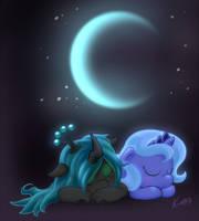 Sleepy queens by Kuraton