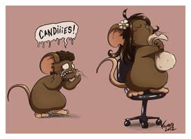 Azrou wants candies by Kuraton