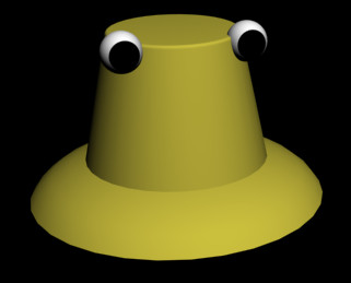 Suwako Hat Model by Najrax