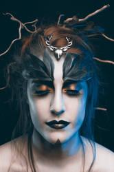 Precious Druid III (different color treatment)