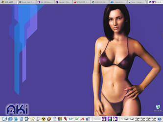 Todays work desktop by pbirkett
