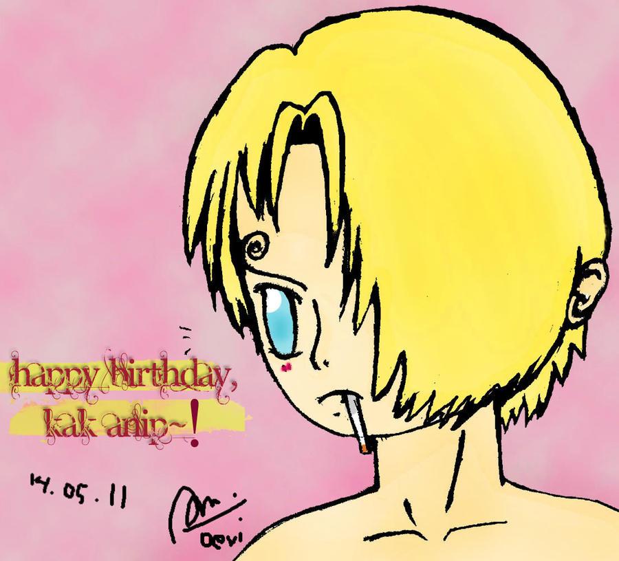 Happy Birthday Kak Anip Xd By Niedlichta On Deviantart
