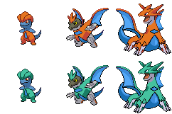 BabyDrack's Evolution by Liraxus