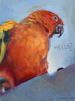 Hello Pepper by blindedangel