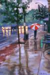 Rain on South Grand