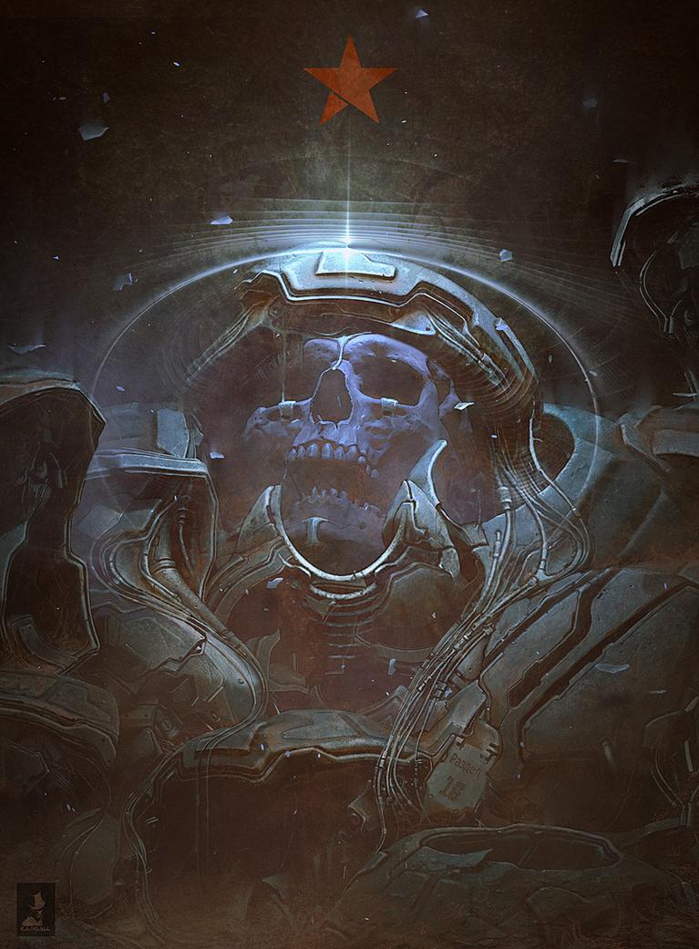 Space-Skull-Final-2 by kargall