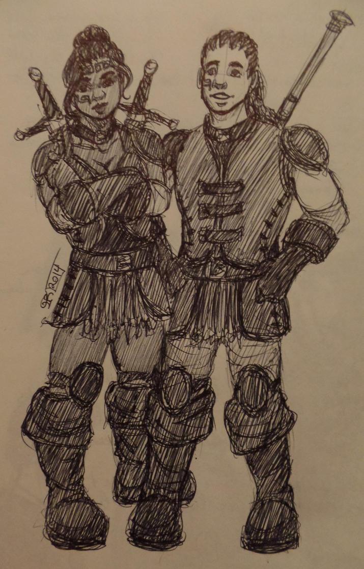 duster bros by CommanderKip