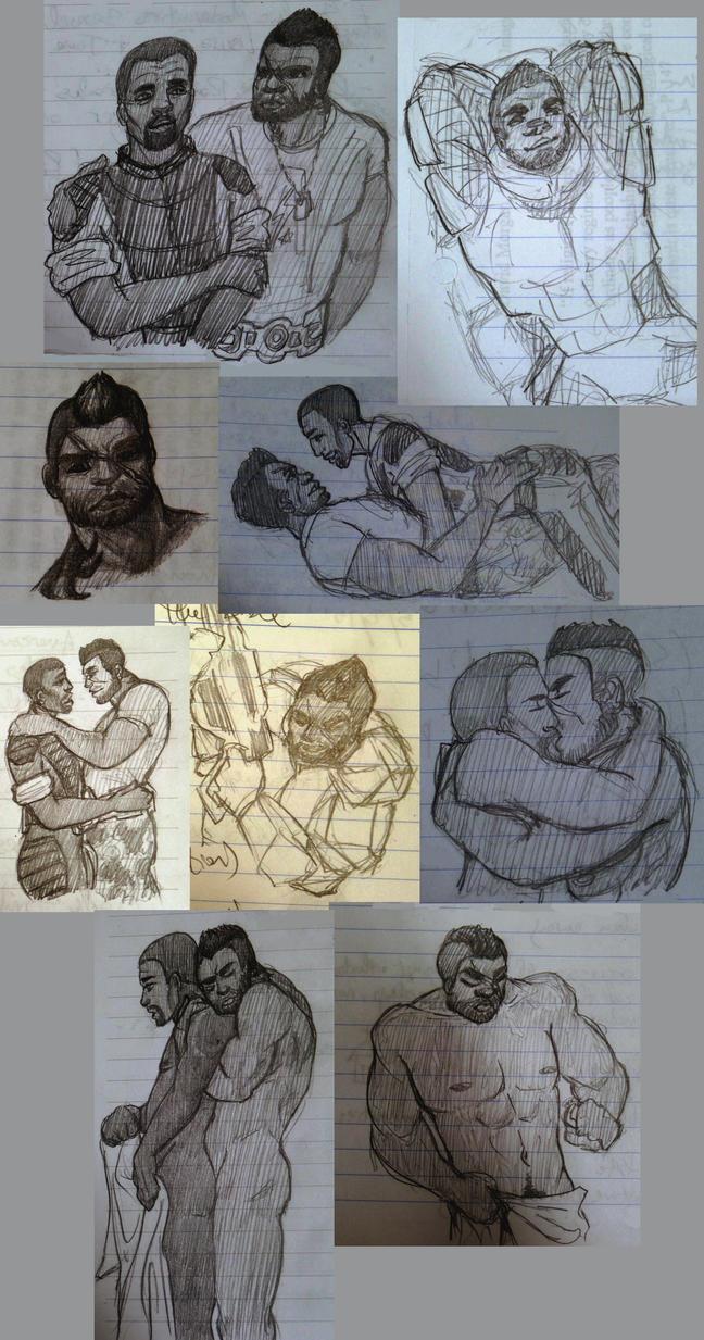 cortega doodles by CommanderKip