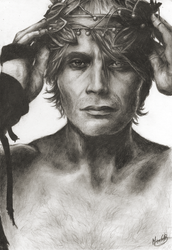 Mads Mikkelsen by MiaGB