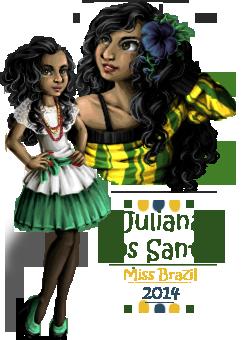 Miss Doll International 2014 - round 1 by MiaGB