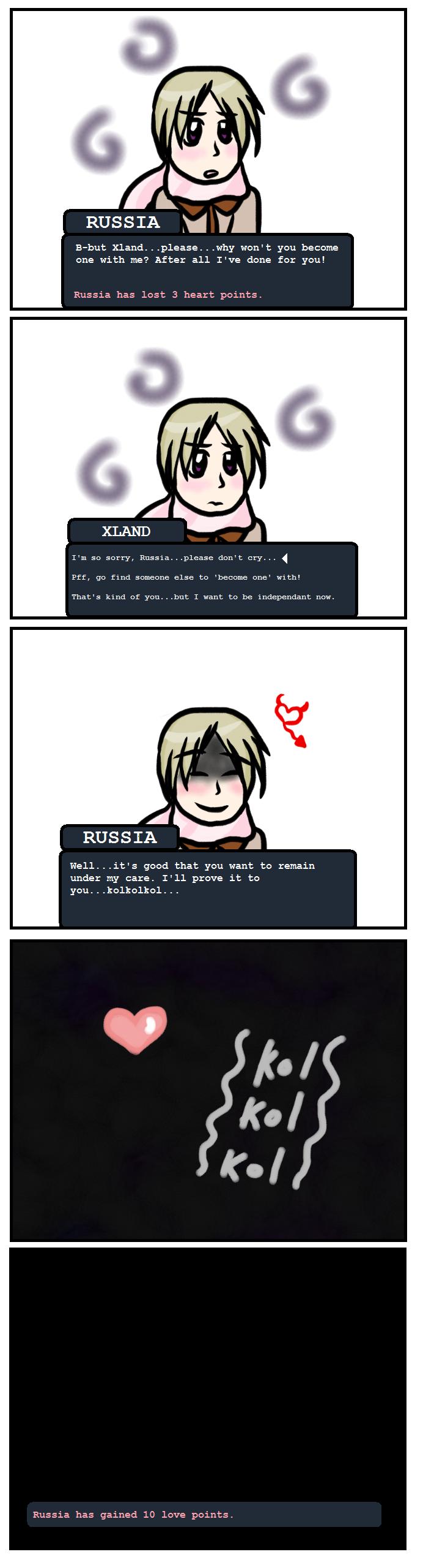 Russia+Xland APH Dating Sim by Konata101