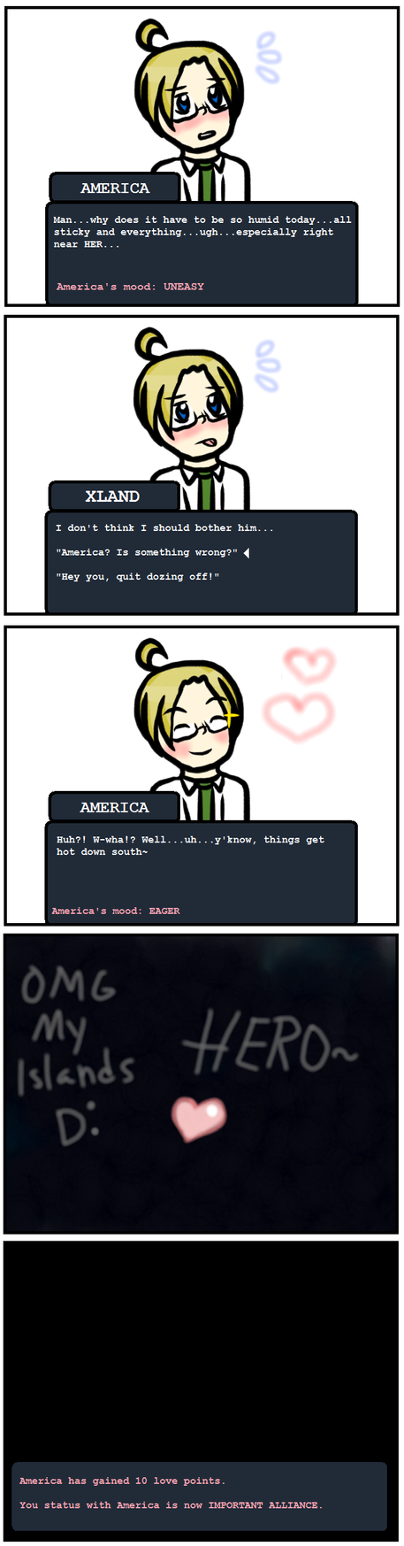 American dating sims