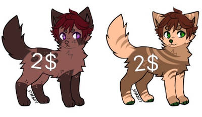 Canine adopts OPEN by rusadopts