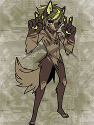 3$ Forest Werewolf Adopt (OPEN) by rusadopts