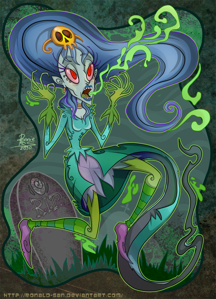 Screaming Banshee by StoicSquid