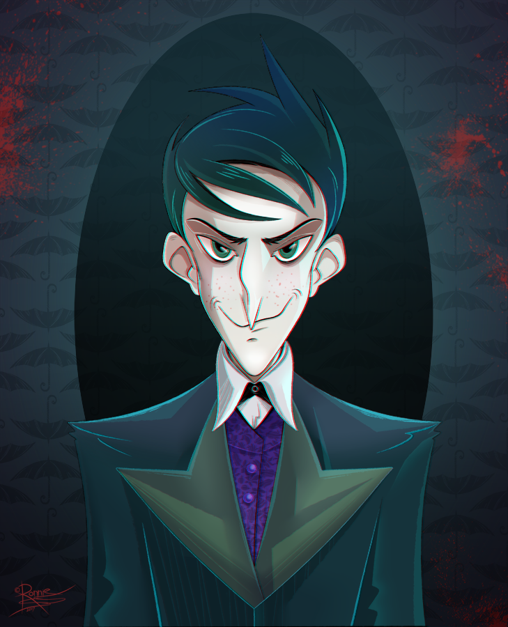Oswald Cobblepot by StoicSquid