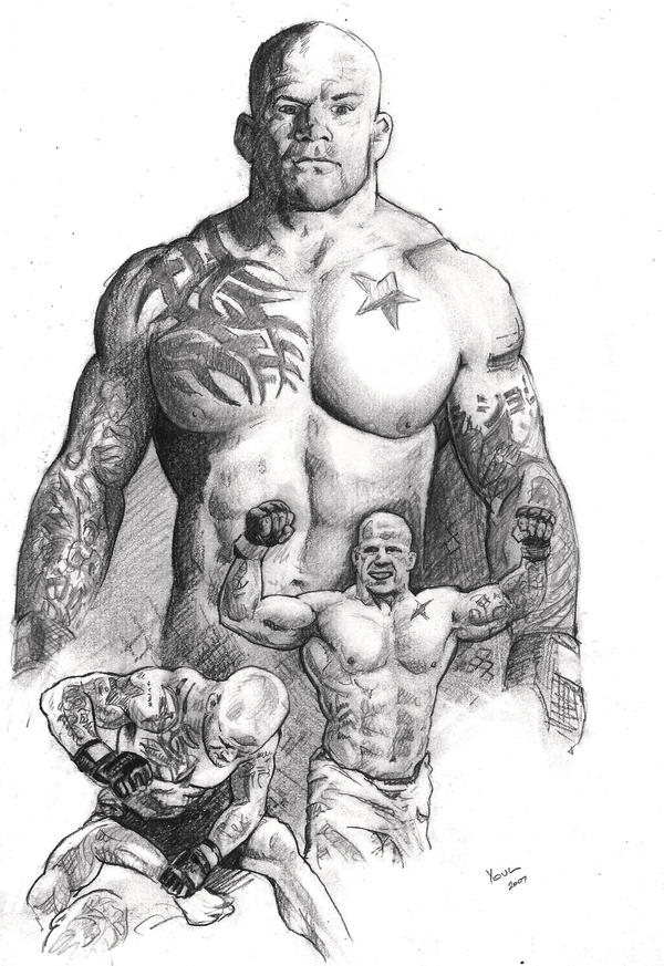 Snowman Jeff Monson - MMA UFC by Alleycatsgarden