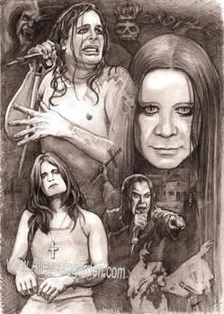 Ozzy Osbourne by Alleycatsgarden