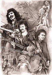 Tony Iommi - Black Sabbath by Alleycatsgarden
